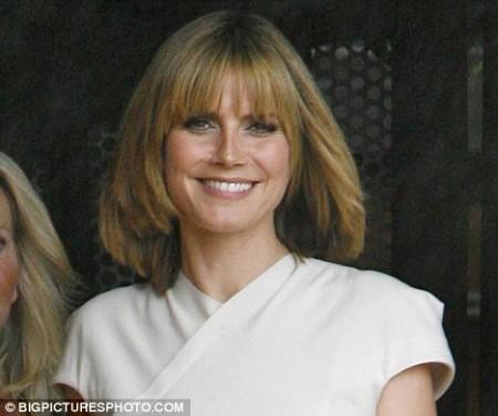 Heidi Klum cambió totalmente de look 2
