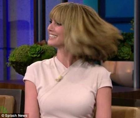 Heidi Klum cambió totalmente de look 3