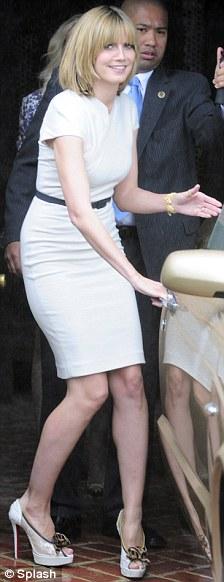 Heidi Klum cambió totalmente de look 4