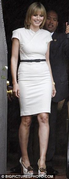 Heidi Klum cambió totalmente de look 5