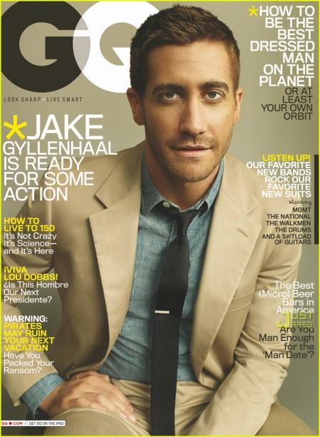 Jake Gyllenhaal en GQ Magazine 3