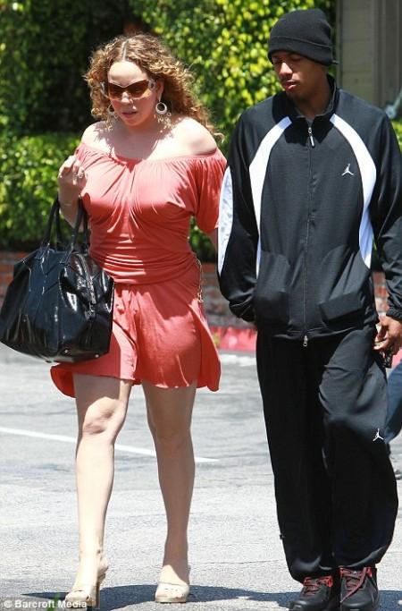 Mariah Carey negó su embarazo2