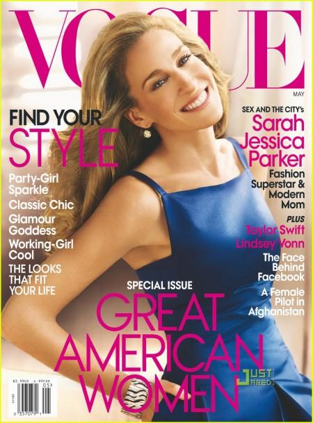 Sarah Jessica Parker para Vogue Magazine 1