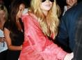 imagen Lindsay Lohan volvió al rubio