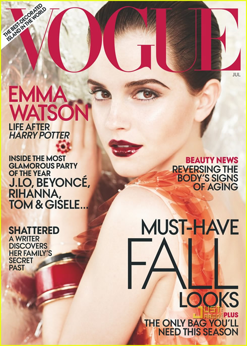 Emma Watson en Vogue Magazine1