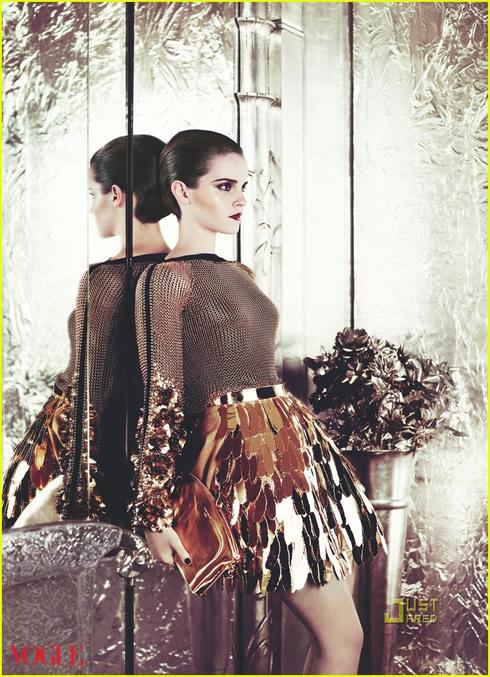 Emma Watson en Vogue Magazine2