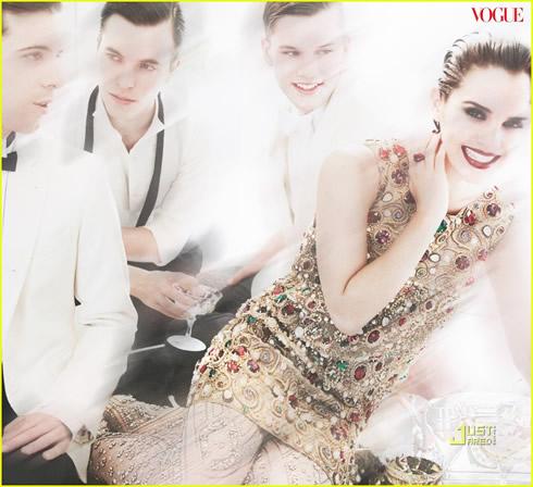 Emma Watson en Vogue Magazine4