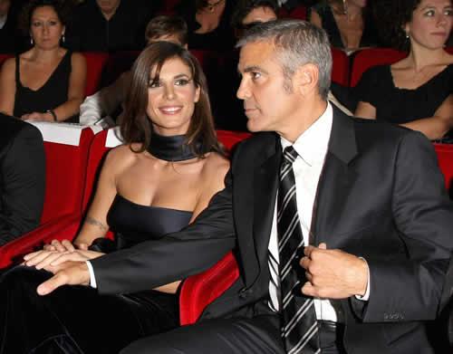 George Clooney y Elisabetta Canalis han terminado