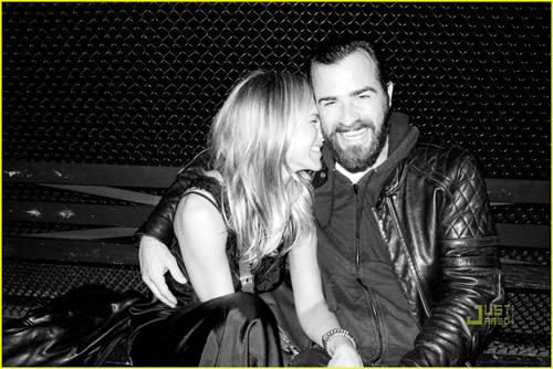 Jennifer Aniston y Justin Theroux, una pareja adorable1