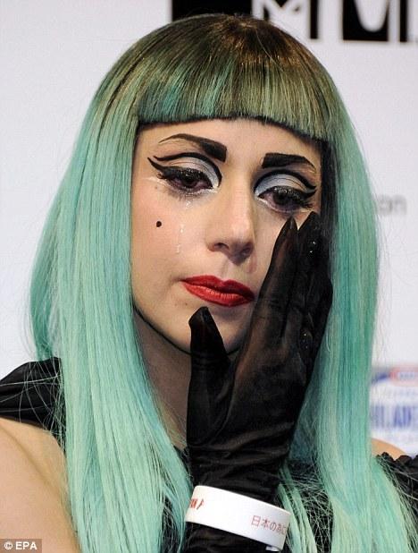 Lady Gaga está en Japón1