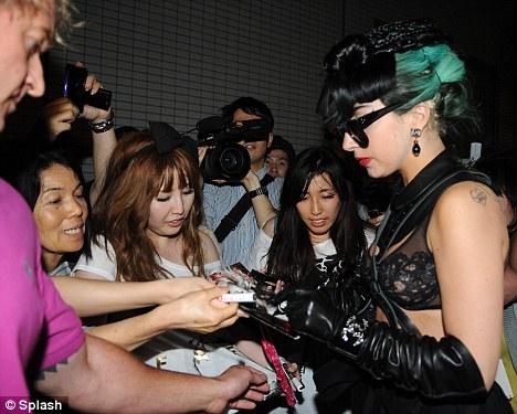 Lady Gaga está en Japón8