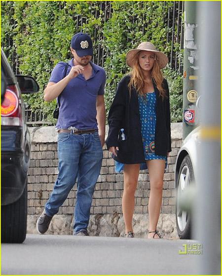 Leonardo DiCaprio y Blake Lively pasean por Verona juntos-06
