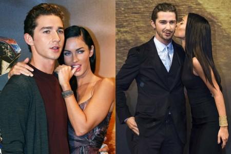 Shia Labeouf tuvo un romance con Megan Fox1