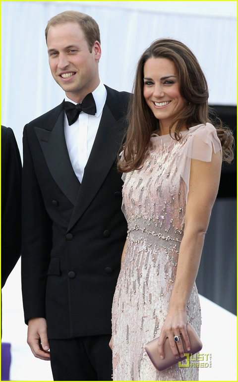 William y Kate en la cena de gala de ARK-01