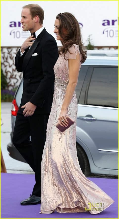 William y Kate en la cena de gala de ARK-02