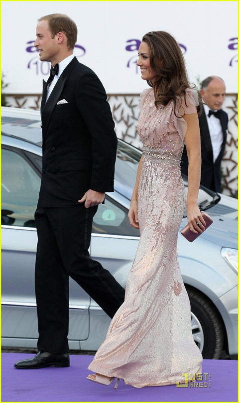 William y Kate en la cena de gala de ARK-03