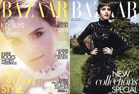 Emma Watson en Harper's Bazaar1