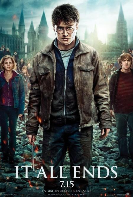 Harry Potter y las Reliquias de la Muerte Parte IIposter