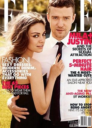 Justin Timberlake y Mila Kunis1