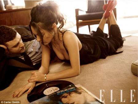 Justin Timberlake y Mila Kunis2