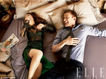 Justin Timberlake y Mila Kunis5