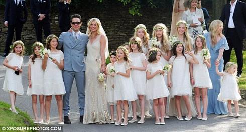 Kate Moss y Jamie Hince se casaron1