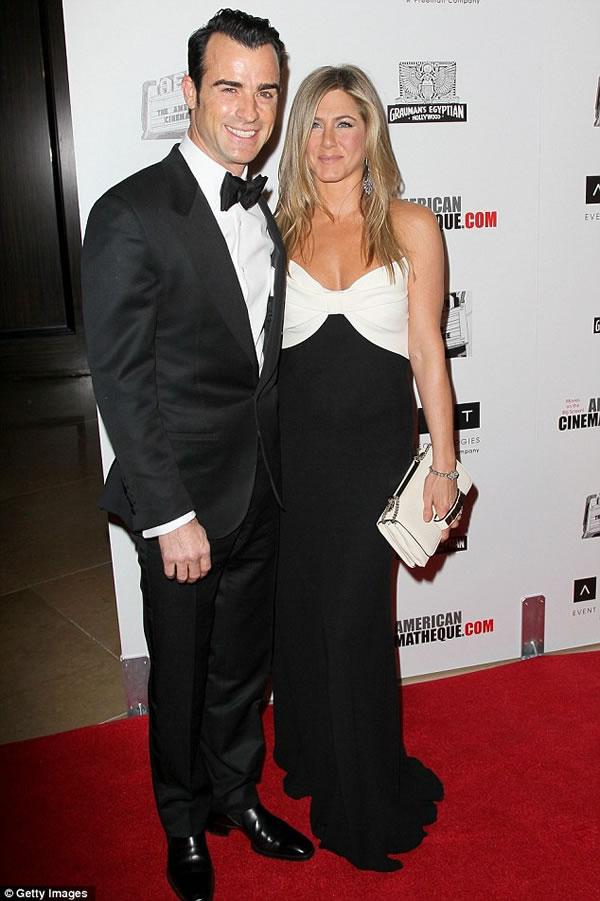 Jennifer Aniston y Justin Theroux 1