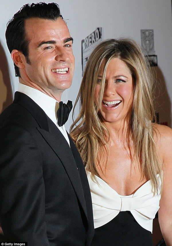 Jennifer Aniston y Justin Theroux 3