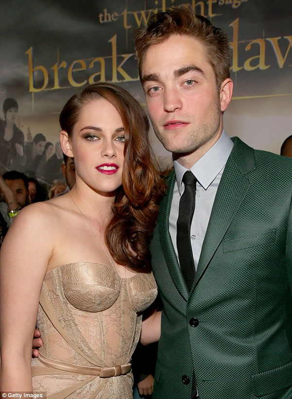 Kristen Stewart y Robert Pattinson 1