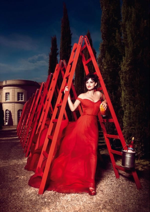 Penélope Cruz en el calendario Campari 2013