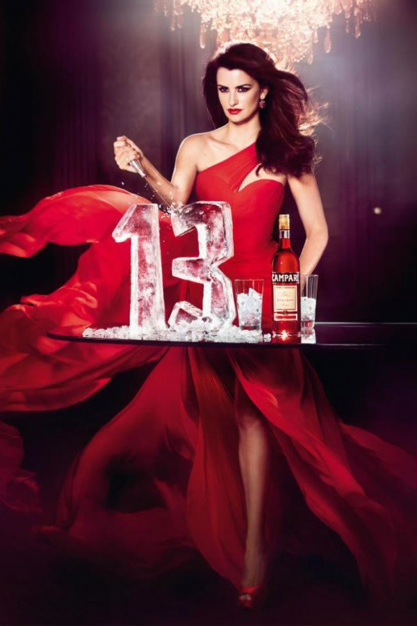 Penélope Cruz en el calendario Campari 2013 13