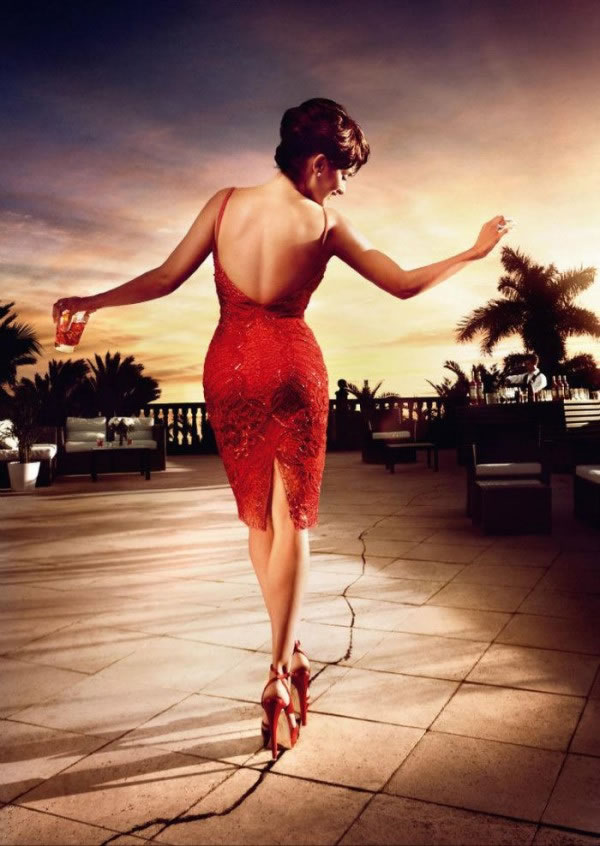Penélope Cruz en el calendario Campari 2013 4