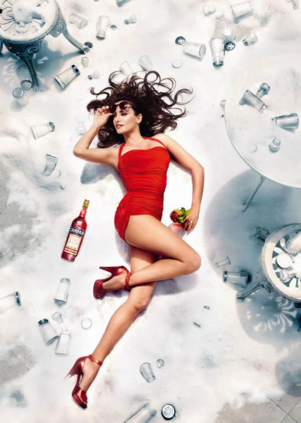 Penélope Cruz en el calendario Campari 2013 5