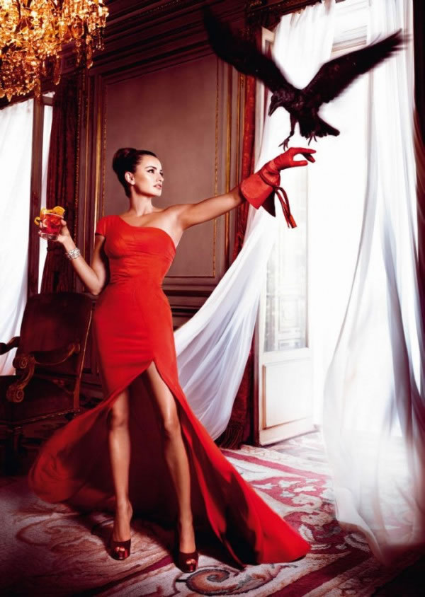 Penélope Cruz en el calendario Campari 2013 6