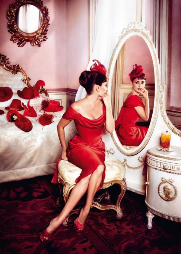 Penélope Cruz en el calendario Campari 2013 7
