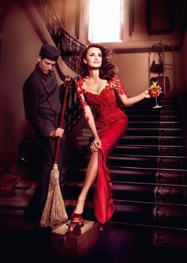 Penélope Cruz en el calendario Campari 2013 8
