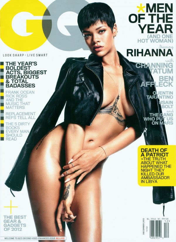 Rihanna en GQ 1