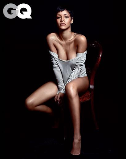 Rihanna en GQ 4