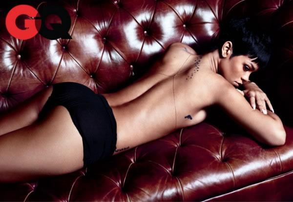 Rihanna en GQ 5