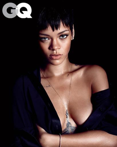 Rihanna en GQ 6
