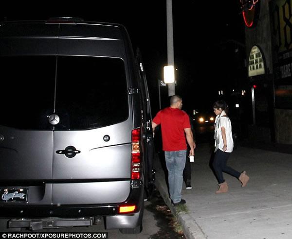 Justin Bieber y Selena Gomez pillados juntos 2