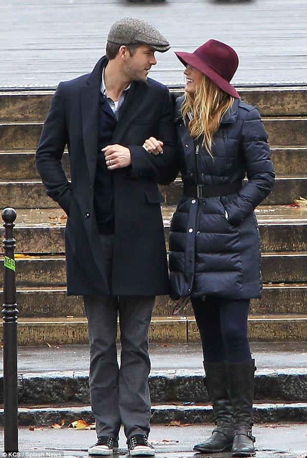El Sr. y la Sra. Reynolds enamorados en Paris4