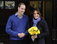 imagen Kate y William felices y embarazados