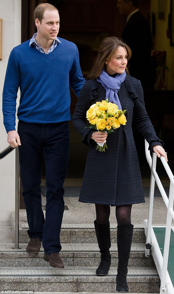 Kate y William con heredero en camino 3