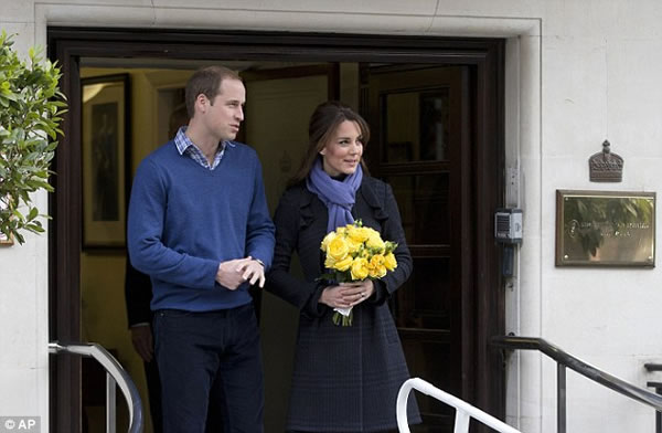 Kate y William con heredero en camino 4