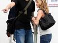 imagen Besos apasionados entre Aniston y Mayer