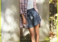 imagen Jessica Szhor en Teen Vogue de Febrero