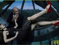 imagen Jessica Biel para la revista Elle